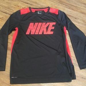 Nike dri-fit long sleeve tee